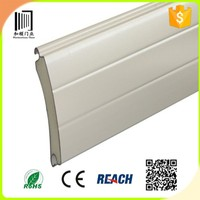 made in china insulated PU foaming roller shutter salt/aluminum rolling shutter door and window price