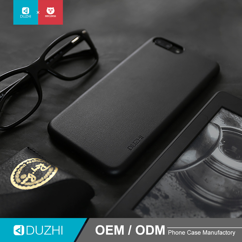 DUZHI New Big Discount Leather Mobile Phone Cover 360 Phone Case For iPhone 7