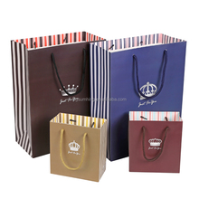 Paper hand bag, Chirstmas gift bags without handles, bag packaging for shopping /gift