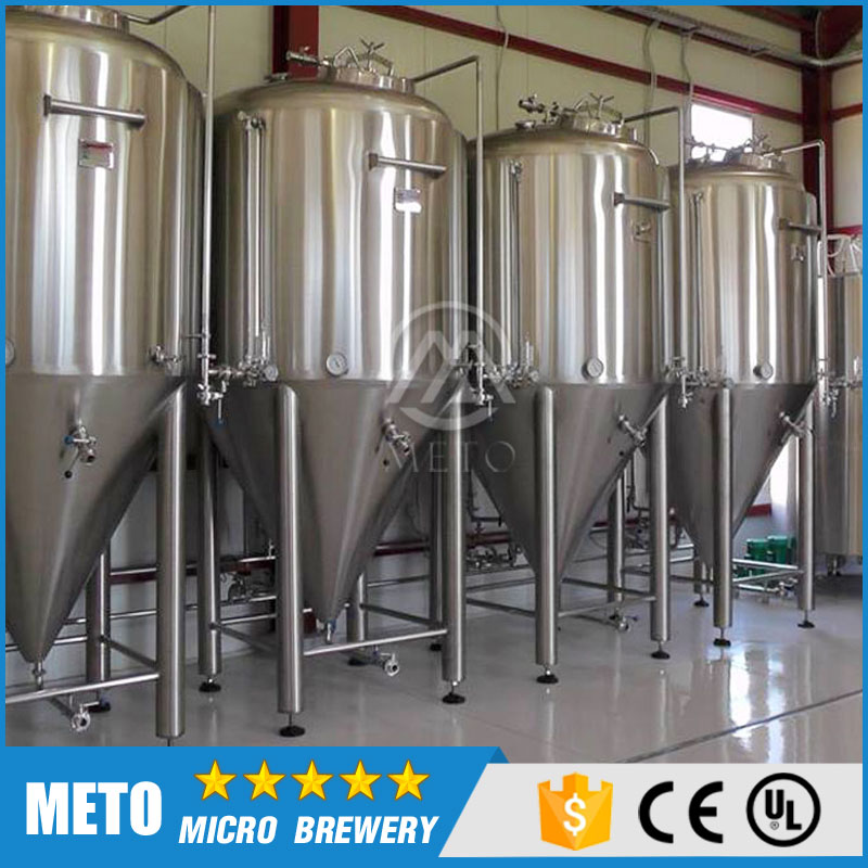 Stainless Steel Fermenter / Beer Fermenter/ Dimple cooling Conical Fermentation Tank for Sale