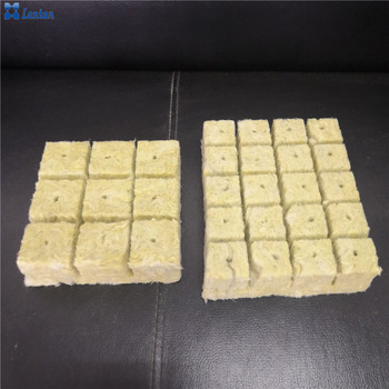 Agricultural mineral rock wool cubes for Greenhouse vegetable cultivation