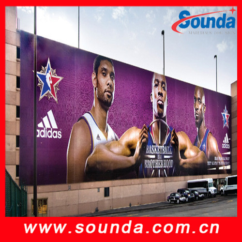 Sounda Glossy / frontlit Flex banner, print canvas, outdoor printing material, banner