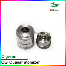 Cigreen wholesale quasar 1:1 clone atomizer with best quality