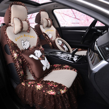 Pink Car Seat Cover For Female