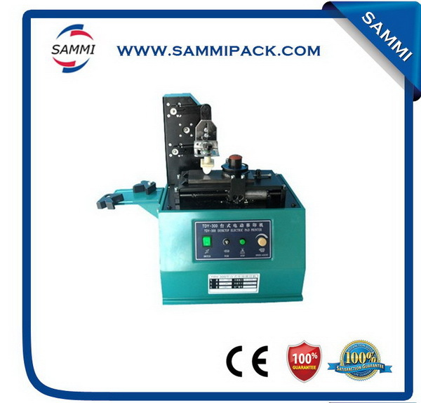 Super quality hot sell TDY-300 Electric Type Pad Printing Machine for bottle,can,cups,glass,mental surface