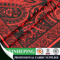 FDY print knitting fabric /100% polyester stretch fabric