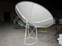 c band 8 feet satellite dish antenna