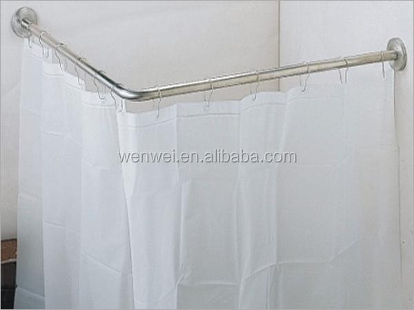 L Shape Corner Telescopic Shower Curtain Rod Buy L Shape Corner Shower Curtain Rods Shower
