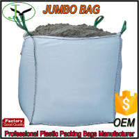 high quality big jumbo bag size bulk bag filling with cement 1300kg