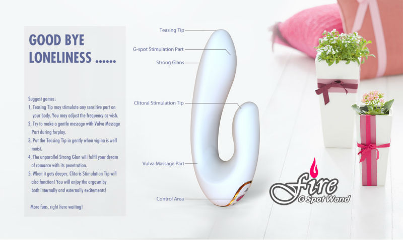 Rechargeable Silicone 30 Speed Artificial Penis Sex Toys for Couples