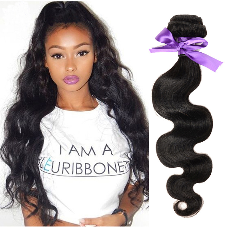 brazilian human hair wet and wavy weave no chemical processed blossom bundles virgin hair hair weft sewing machine