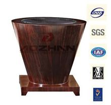 MDF Side table Hotel furniture Ebony veneer coffee Table