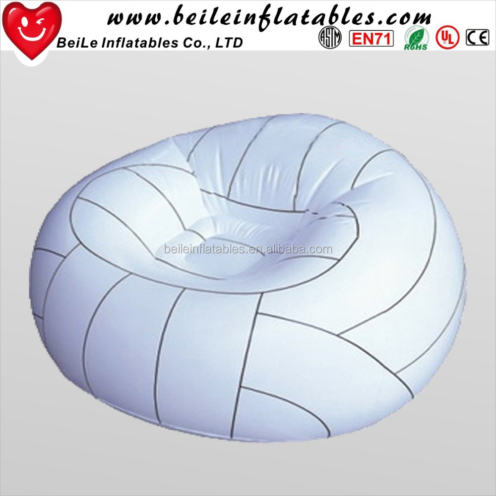 Single Seat Inflatable Sofa Chair lazy bean bag sofa