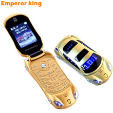 newmind F15 Car model flashlight dual sim cards mp3 mp4 FM radio recorder flip cellphone car model mini cell mobile phone