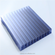 building material plastic color 4mm 6mm polycarbonate hollow sheet