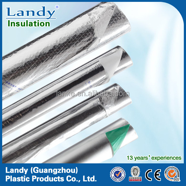 Aluminum foil foil scrim kraft heat insulation facing for Fireproof vapor barrier