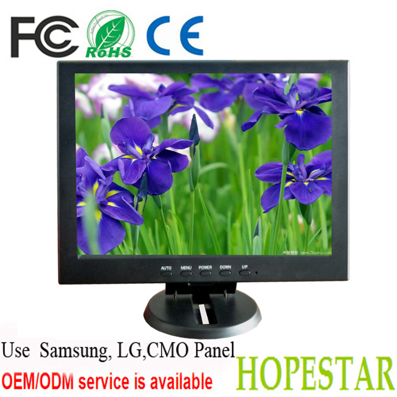 10.4 Inch LCD TV 1024*768 Resolution with AV,TV-out,DVI,D-Sub,HDMI Interface Type