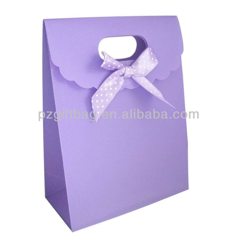 2014 light color pure gift promotion paper bag