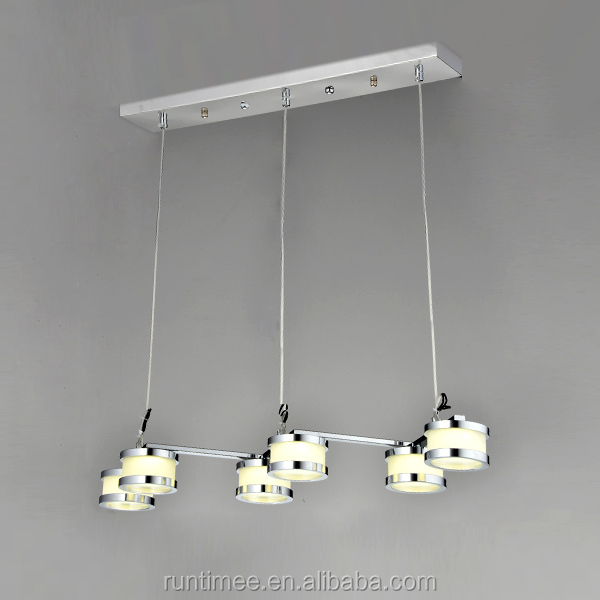 Guangzhou Acrylic LED Pendant Light Model RT1802-6