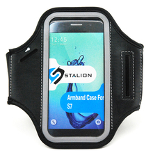 Mobile Phone Accessories Sport Armband With Transparent PVC Window