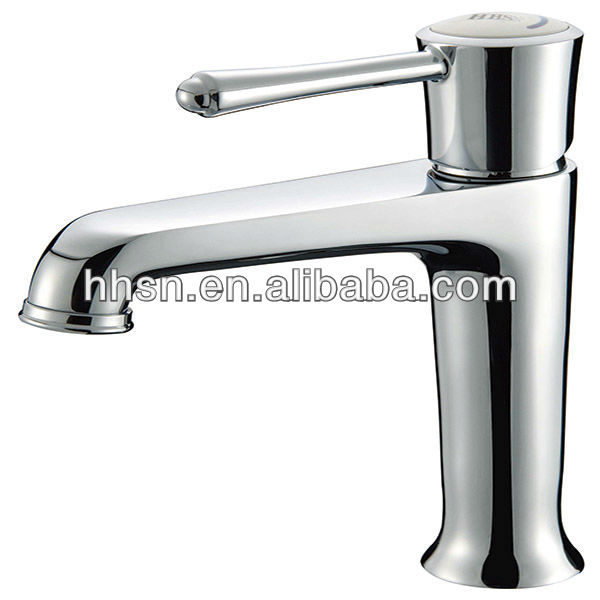 Sanitary Ware Chrome Plated Single Hole Bathroom Faucet - Buy ...