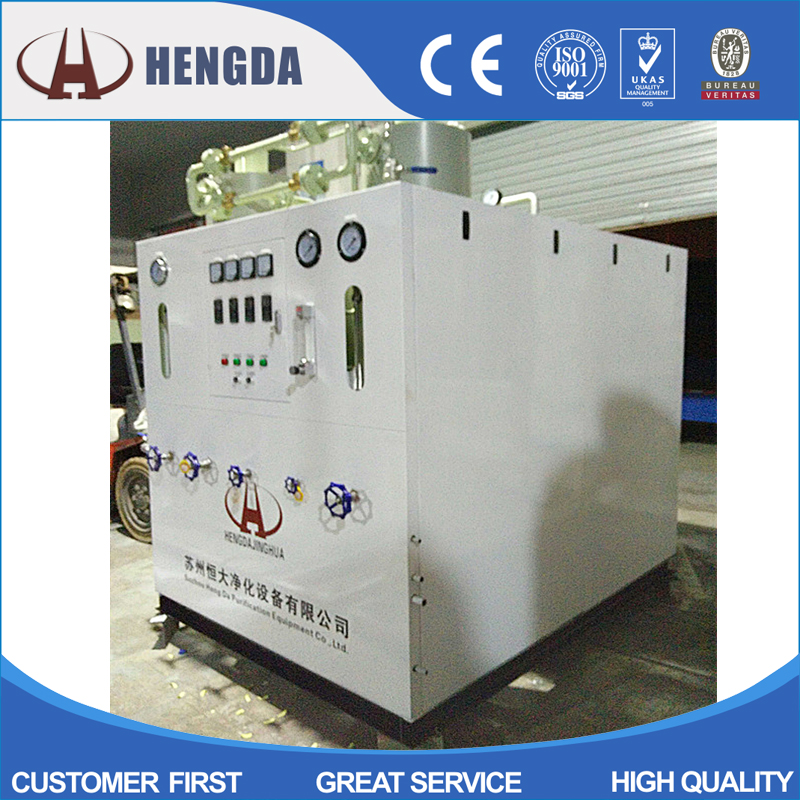 High Purity H2 Gas Generator with Ammonia Destruction Furnace