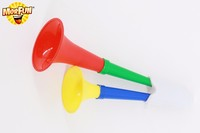 Hyderabad Best Selling little man mustache 1st birthday party supplies good quality air horn for promotion color trumpet