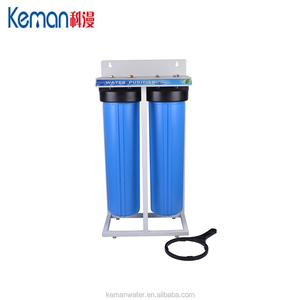 Double filtration deep well water purification