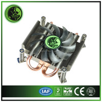 29.5mm Thin cpu cooler fans for 1U mini short computer case