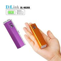 "Mini 2600mah External Battery Pack Compact ""Lipstick"" Size USB Universal Portable Power Bank Charger for cell phones"
