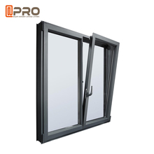 Top sale used windows and doors about aluminum window tilt and turn window