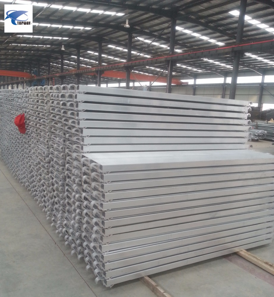 High strength construction used aluminum scaffold plank for sale