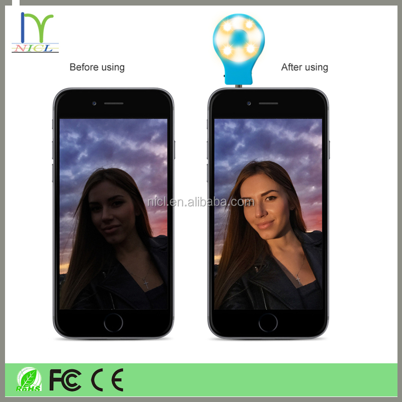 Most popular items RK07 selfie flash light for moible phone and Keyboard Lamp