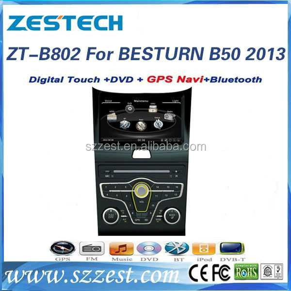 2013 car dvd gps navigation for Faw Besturn B50 car dvd gps navigation with bluetooth 3G wifi DVR DVB-T TMC optional