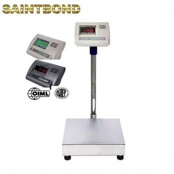 Floor calibration of tcs 300kg digital weight scales Platform Balance Bench Scale
