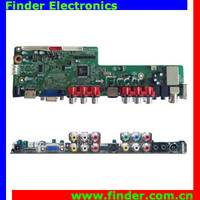 Supporting Full HD 1920*1080 LCD and LED Panel, Universal LCD TV Control Board