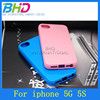 Jelly TPU cell phone case for Iphone 5G 5GS case