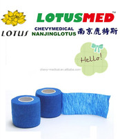 CE Approved Top Selling Excellent Quality Porous Cotton And Non-woven Cohesive Bandage