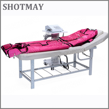 SHOTMAY STM-8033 3 in 1 ems pressotherapy far infrared muscle stimulator vel box for wholesales