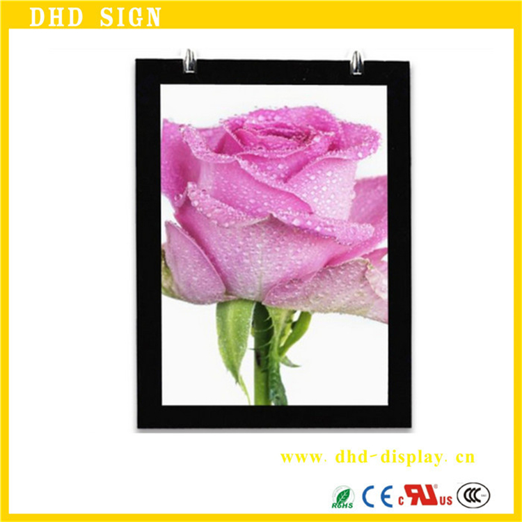 Low Price crystail light box advertising material With Good Service