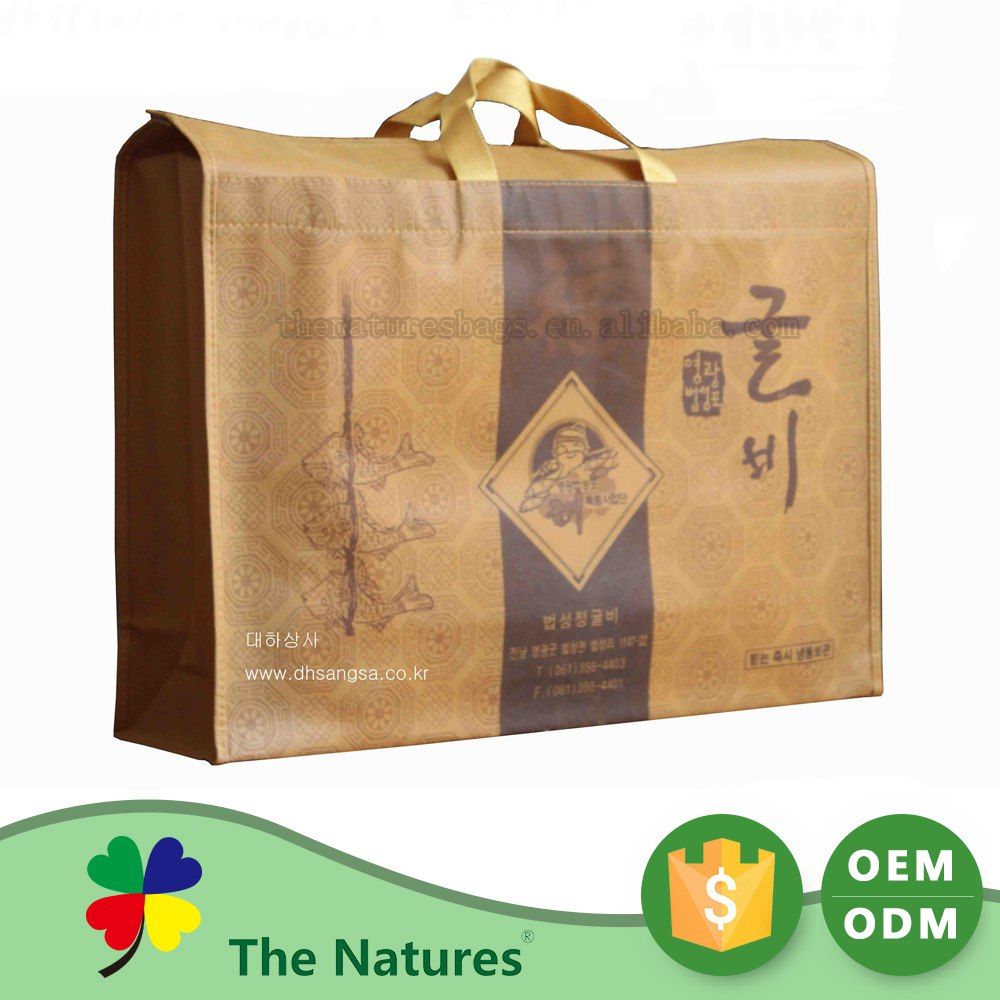 Affordable Price Custom Color Gift Set Non Woven Packing Pp Woven Packing Bag