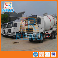 volume of a concrete truck for conveying concrete