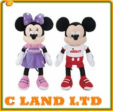 New design mickey and minnie mascot for kids