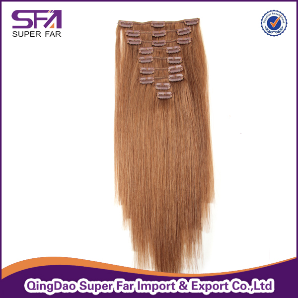 Wholesale Clip In Human Hair Extensions For Black Women