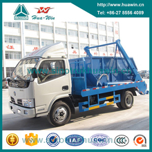 4CBM Swing Arm Garbage Truck Skip Loader Refuse Truck