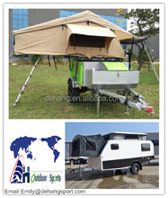 Light Weight Fiberglass Camper Trailer And Travel Trailer With Bed