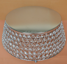 Crystal cake stand for wedding occasions