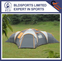 Hot sale and High quality waterproof 8-10 man big family outdoor camping tent