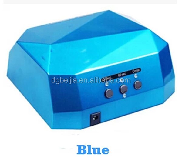 Nail drying product power saving 36W led uv nail lamps