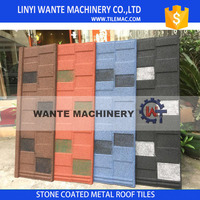 Wante roof shingle tiles with beautiful double colors internationl popular in 2016